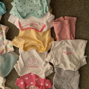 Baby girl clothes. Mostly 3-6 months. Vguc mainly